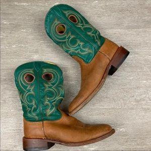 Nocona Men's Leather Cowboy Boots Western